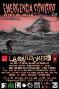 Emergencia Sonora 2019 Cartel